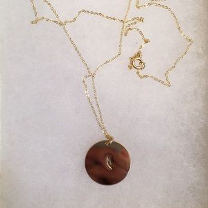 Jewelry - James Michelle 7/8 Inch Coin Necklace